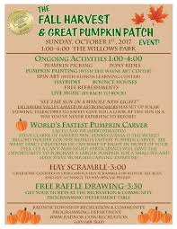 the fall harvest u0026 great pumpkin patch radnor pa official website
