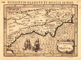 Un Map Un Mapa Antiguo De Granada Y Murcia Kolfinna J Mapas Andalucía