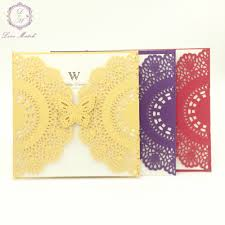 online buy wholesale wedding invitations butterfly from china