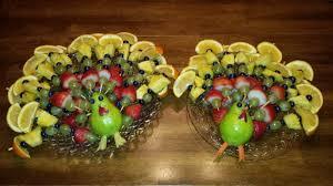 turkey fruit trays