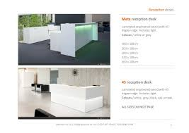 White Reception Desk Spaceist White Reception Desk Catalogue