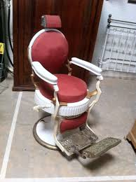 Barber Chairs For Sale Craigslist Custom Made 1920 U0027s Koken Double Round Barber Chair By Custom