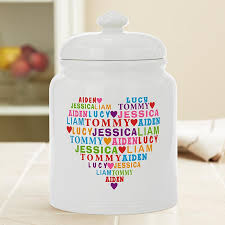 personalized cookie jars personalized cookie jars and storage jars at personal creations