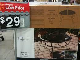 Patio Furniture In Walmart - furniture stunning design of walmart fire pits for patio