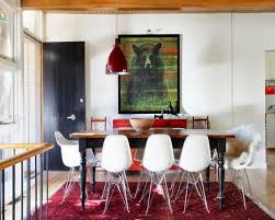10 splendid dining room settings with eiffel chairs rilane