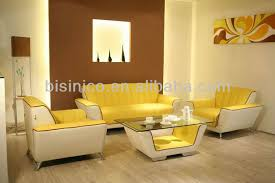 Modern Yellow Sofa Modern White Yellow Living Room Sofa Set 3 Seater One Seater