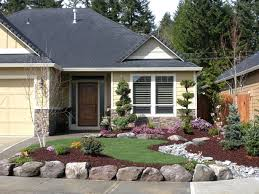 front yard landscaping ideas for ranch style homes pictures home