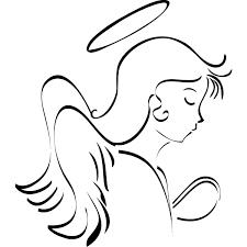 angel line art free download clip art free clip art on