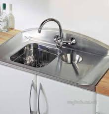 leisure kitchen sink spares rangemaster roma 1 5b sink accs pk brshd ss leisure