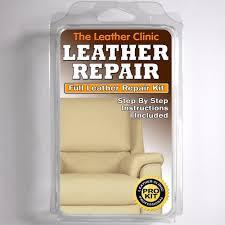 How To Repair Leather Sofa Tear Light Cream Leather Sofa U0026 Chair Repair Kit For Tears Holes Scuffs