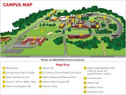 Center For Home Design Nj by Campus Map Caldwell University New Jersey
