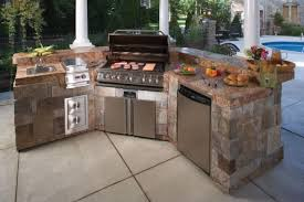 prefabricated outdoor kitchen islands ideas for your own prefab outdoor kitchens precast concrete