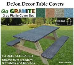 precise 3 piece picnic table cover set 17 for you attractive