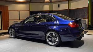 Bmw M3 Blue - heavily specced bmw m3 tanzanite blue features carbon fiber rear wing