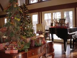 living room decorations for christmas decorating home fireplace