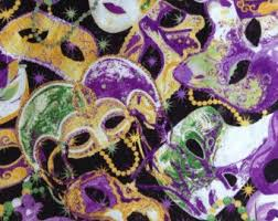 mardi gras material 1 2 yard of fabric material stonehenge mardi gras crafty things to