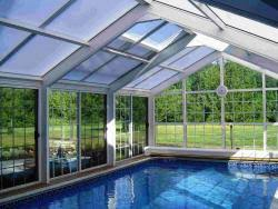 enclosed pool manufacture and installation of commercial and residential swimming