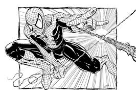 spiderman speed drawing comic book style