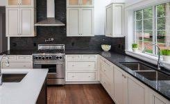 black backsplash kitchen backsplash white cabinets image best 25 white kitchen backsplash