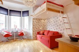 studio bedroom ideas amazing hanging loft bed of studio apartments bedroom design ideas fnw