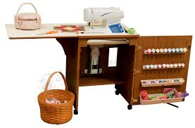 Sewing Cabinet With Lift by 98500 Sewnatra Compact Sewing Cabinet Oak Finish