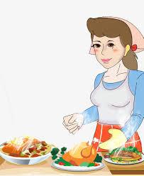 maman cuisine la cuisine de maman dessin peint à la maman image png pour
