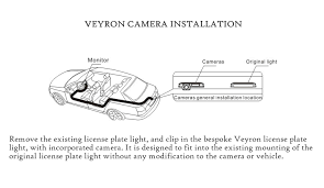 veyron vc vw03 reversing rear view camera for volkswagen caddy