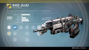 destiny rise of iron new bad juju last word