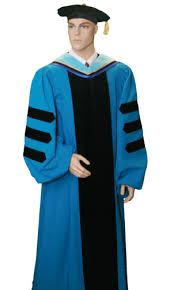 doctoral graduation gown custom graduation doctoral gown