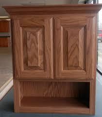 oak bathroom wall cabinets bathroom cabinets