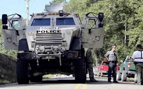 military surplus vehicle helped horry county police rescue six