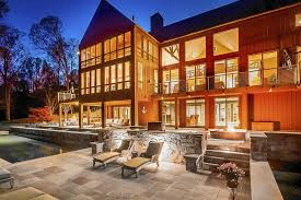 dream home monkton home has a contemporary cabin feel