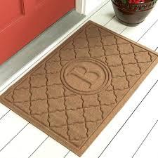 front doors best outdoor front door mat monogram doormats