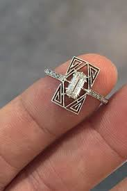 18 unbelievably beautiful vintage rings inspired by art deco art