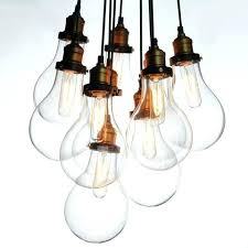 big bulbs cluster pendant light chandelier large bulb outdoor tree
