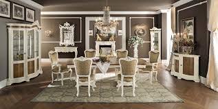 classic dining table wooden rectangular round bella vita