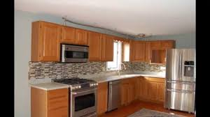 Youtube Refinishing Kitchen Cabinets How To Reface Kitchen Cabinets Youtube Tehranway Decoration