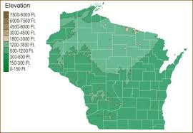 map of wisconsin lakes streams and rivers