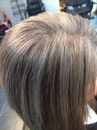 highlights for grey hair pictures the 25 best grey hair with brown highlights ideas on pinterest