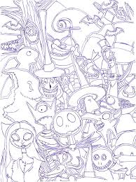 Free Printable Halloween Activity Sheets The Nightmare Before Christmas By Radiant Sunset The Nightmare
