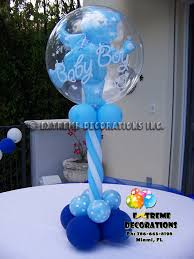 baby boy centerpieces party decorations miami baby shower balloon decorations