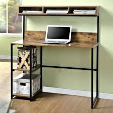 Small Computer Desk With Drawers Small Computer Desk With Printer Shelf Desks For Spaces And Hutch