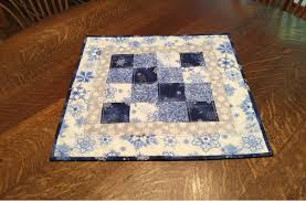 quilted table topper table topper quilted snowflake table topper