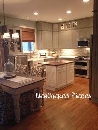 martha stewart kitchen ideas weathered pieces kitchen remodel with martha stewart cabinets