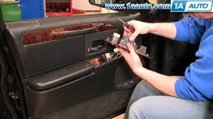 how to replace repair install broken driver power window switch