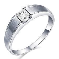 men diamond wedding bands 33 carat princess cut diamond men s diamond wedding band on 10k