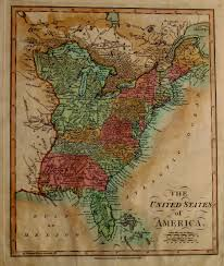 Enlarged Map Of The United States by 1810 U0027s Pennsylvania Maps