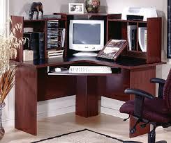 Computer Desk Cherry Wood Corner Desk Wood On Cherry Wood Corner Computer Desk Home Design