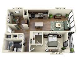 bedroom bedroom apartment plans floor construction duplex 98