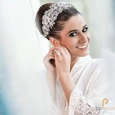 bridal headpiece panamanian stunner shella in custom designed bridal